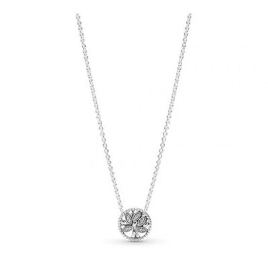 Strieborný náhrdelník, číry kubický zirkón