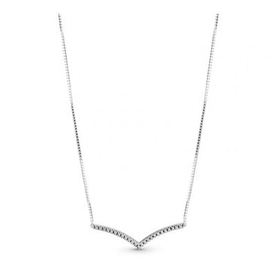 Strieborný náhrdelník, kubický zirkón