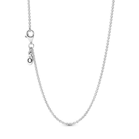 Strieborný náhrdelník, 45cm a 90cm