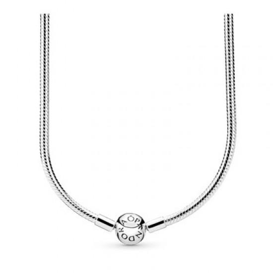 Strieborný náhrdelník Moments