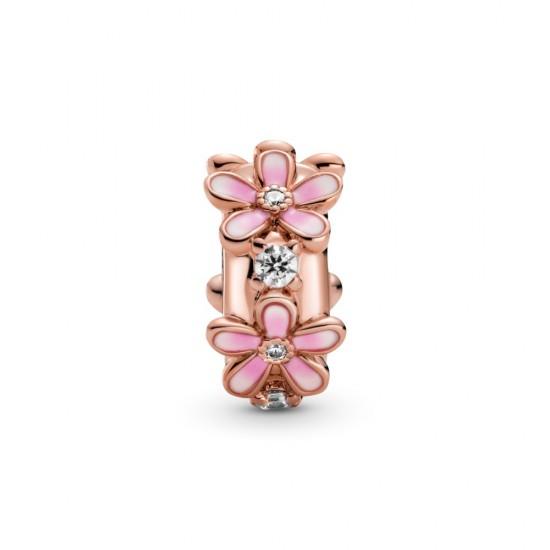Klipový oddeľovací prívesok Ružová sedmokráska